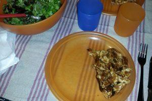 Straccetti di petto di pollo all'aceto balsamico